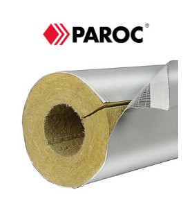 Mineral Wool Pipe Section 89/100/1200mm PAROC